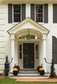exterior arch portico front entry traditional entry philadelphia by cushing custom homes porticos design pictures remodel decor and ideas