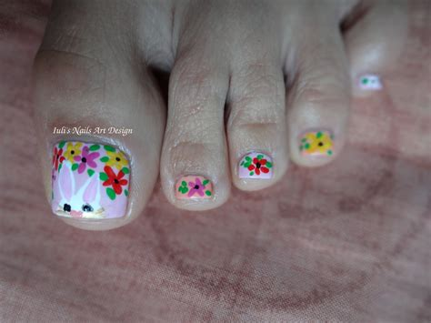 what color toes are in this spring easter toes art design spring pastel colors tutorial