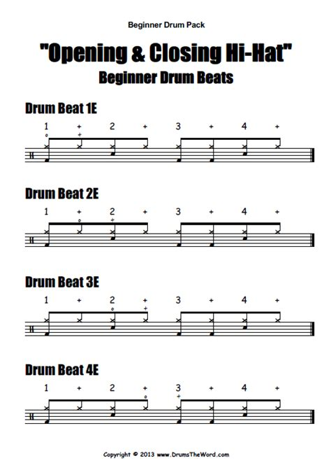 tutorial drum quot beginner starter quot video pack drumstheword com