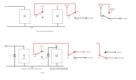 light relay diagram mechanical relay primer and 2 pole wiring diagram wiring