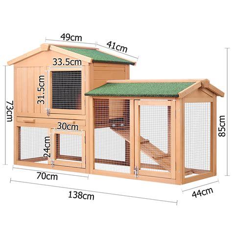 ferret house rabbit hutch chicken coop cage guinea pig ferret house w 2 storeys run