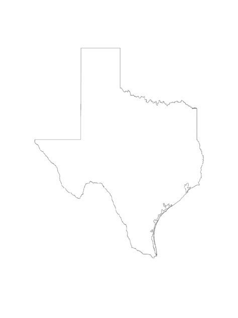 texas map template   templates   word excel