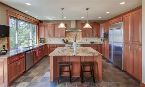 coordinating cabinets countertops and flooring 53 high end contemporary kitchen designs with