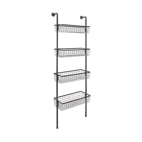 wall shelves with baskets 119 best images about home shelves wall display on