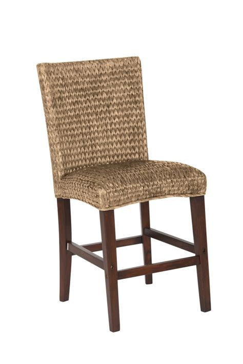 banana leaf chairs banana leaf counter height chair 101095 bar stools