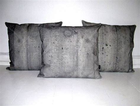 Concrete Pillow by Pillow Cases With Construction Materials Interiorzine