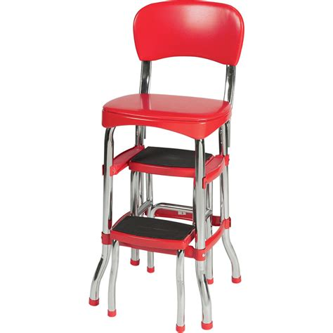Vintage Kitchen Stool Chair by Vintage Kitchen Retro Chair Bar Step Stool And