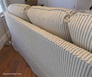 White Cotton Sofa Slipcovers Sleeper Sofa Slipcover The Slipcover Maker