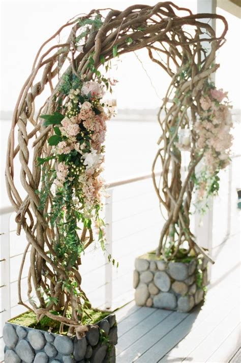 Wedding Arch Branches curly willow branch wedding ceremony arch wedding