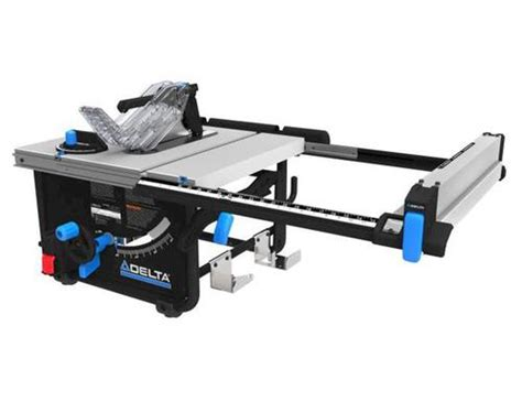 delta bench saw delta 174 10 quot portable table saw at menards 174