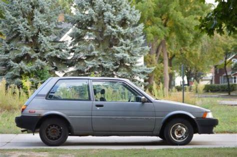 1980 Toyota Corolla Hatchback Sell Used 1987 Toyota Corolla Fx Hatchback 2 Door 1 6l