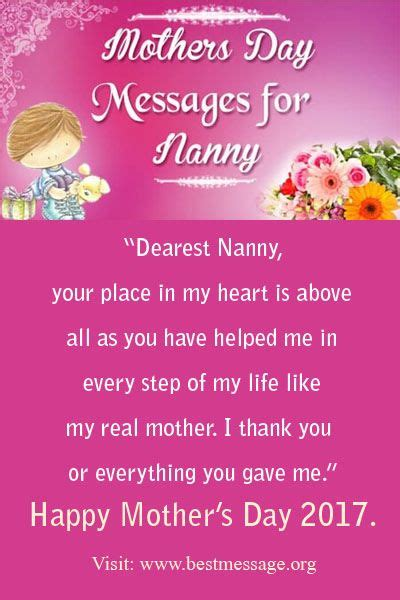 message happy day mothers day messages for nanny happy happy