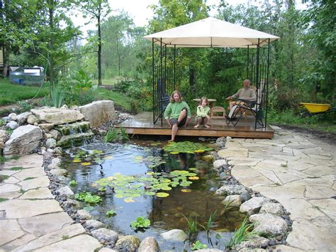ponds and waterfalls robin aggus landscaping