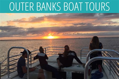duck nc boat tours outer banks boat tour sunset cruise visit outer banks