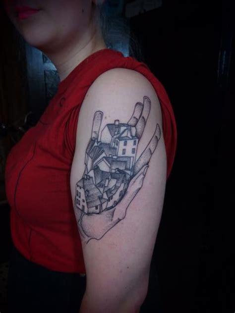 tattoo shoulder dotwork shoulder fantasy dotwork tattoo by papanatos tattoos