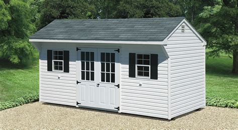 8 X 14 Storage Shed by Quaker Shed Cedar Craft Storage Solutions