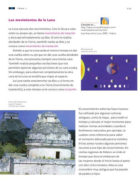 la misma luna preguntas de comprension ciencias naturales 3er grado by rar 225 muri issuu