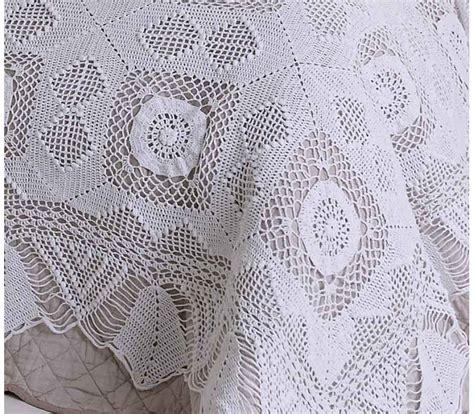 Crochet Bedspread Crochet Lace Bedspread