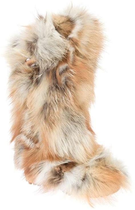 pajar fur boots pajar insbrook fur boot in brown lyst