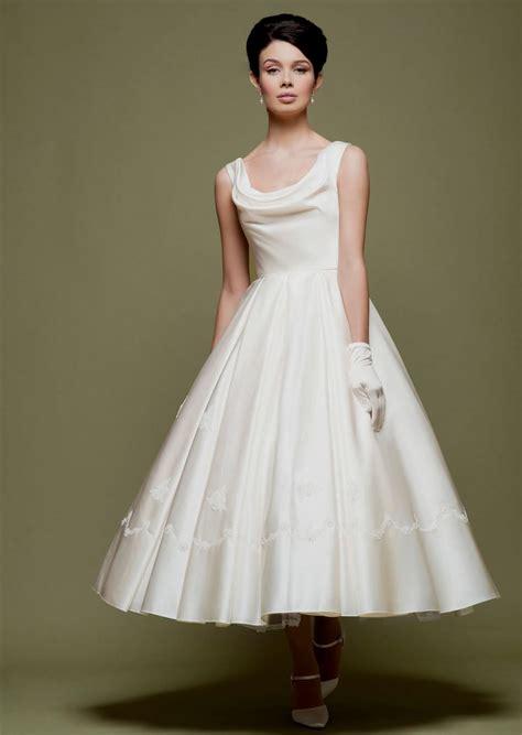 50s Style Bridesmaid Dresses   High Cut Wedding Dresses