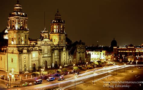 zocalo night mexico city travel with stay adventours stay adventurous