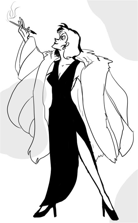 cruella cruella de vil by wwii in color on deviantart