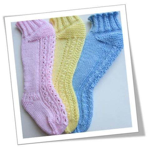 knitting pattern socks 8 ply over the knee baby socks knitting pattern by