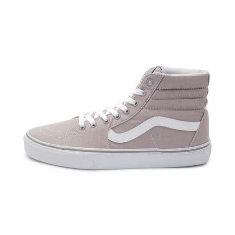 High Grey vans sk8 hi skate shoe gray 498741