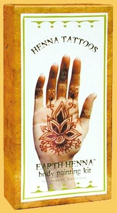 henna hand tattoo kits 17 best images about earth henna temporary tattoos on