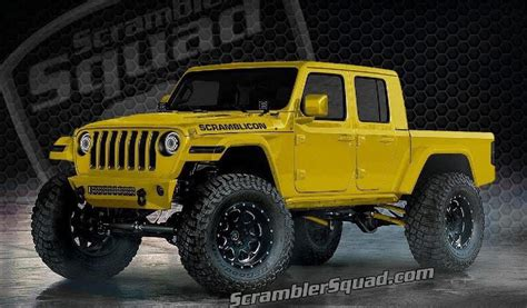 Jeep Truck 2020 Lifted by What If Your 2020 Jeep Gladiator Scrambler Truck Was