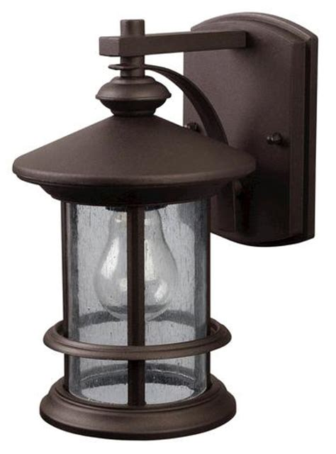 patriot lighting 174 treehouse 1 light 9 75 quot rubbed