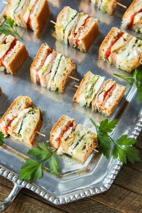 Summer Of Sandwiches Mini Its It by 25 Best Ideas About Mini Sandwich Appetizers On