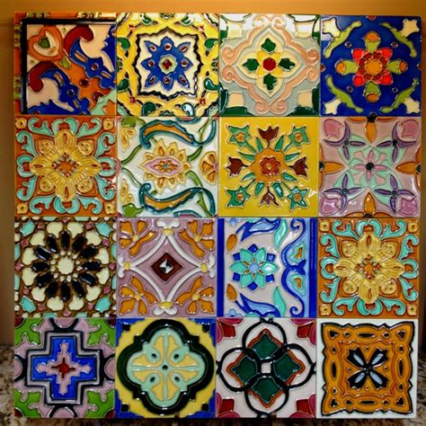 Mexican Handmade Tiles - 59 best images about mexican tile back splash on