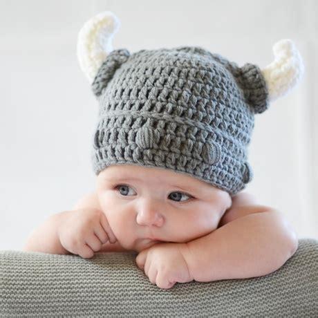 gorros de crochet gorro crochet casco vikingo para beb 233 divertido disfraz de