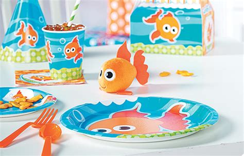 goldfish themes goldfish party supplies birthdayexpress com