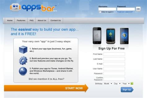 how to build an app for android your own android app has never been easier thanks to appsbar