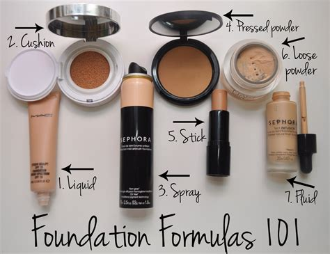 best kind of foundation 5 types of makeup foundation mugeek vidalondon