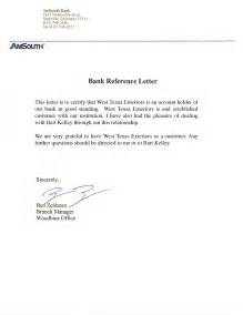 reference letter from bank how do i get one