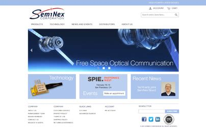 diodes website seminex corporation launches 1st e commerce website for laser diodes seminex corporation
