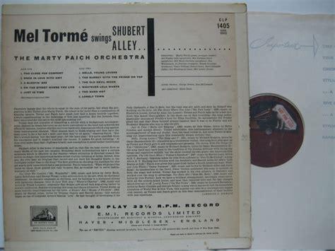 mel torme swings shubert alley mel torme swings shubert alley 大塚レコード