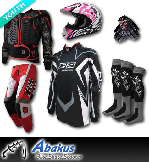 junior motocross gear youth mx helmet jersey armour more junior kids dirt bike