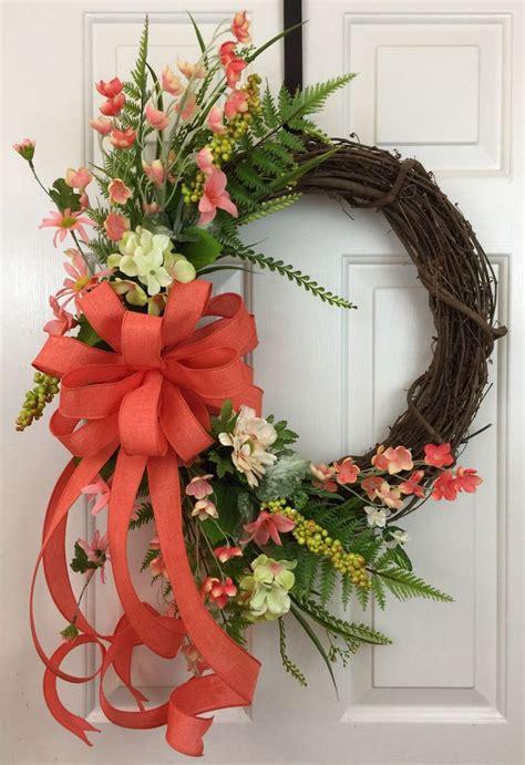 grapevine floral design home decor the best 25 wreath bows ideas on pinterest diy bow burlap