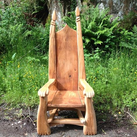 Story Chair by Carved Story Telling Chairs