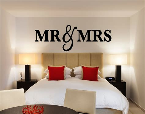 wall sign decor mr mrs wall sign for bedroom decor mr and mrs sign for