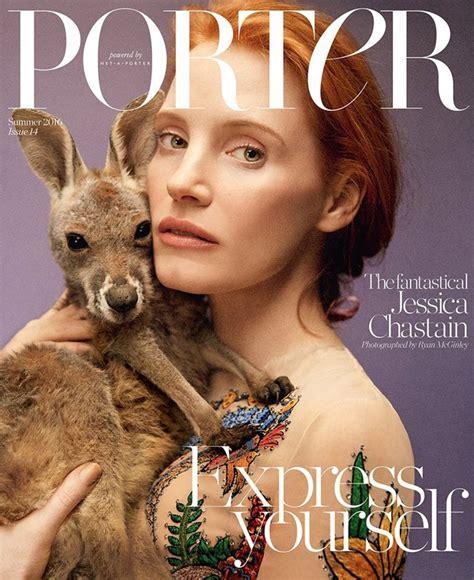 chastain covers porter magazine summer 2016