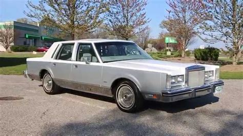 how can i learn about cars 1984 lincoln continental electronic throttle control sold 1984 lincoln town car cartier for sale loaded only 24 602 miles beautiful condition