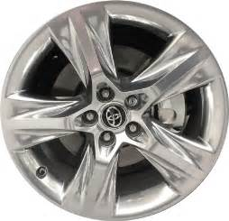 Toyota Rims Toyota Highlander Wheels Rims Wheel Stock Oem Replacement