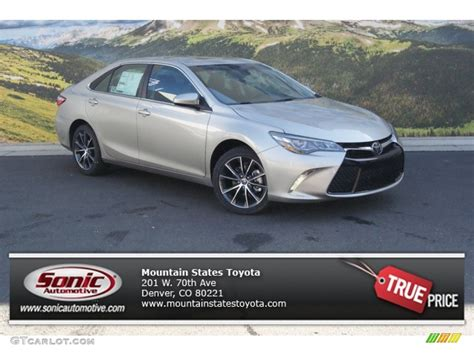 Toyota Camry Creme Brulee 2015 Creme Brulee Mica Toyota Camry Xse V6 98854170