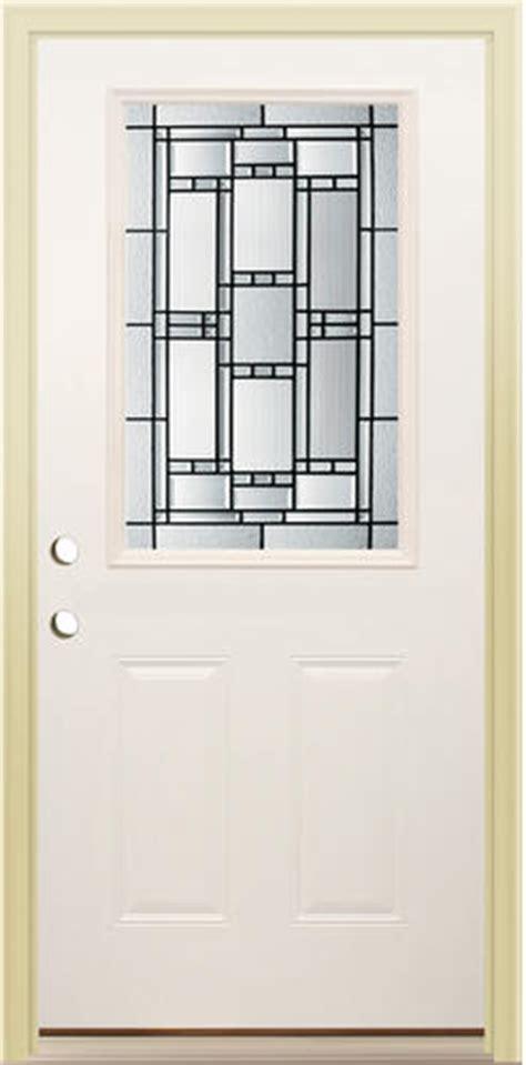 Mastercraft Exterior Doors Mastercraft Ve 106 Primed Steel Half Lite Prehung Ext Door At Menards 174