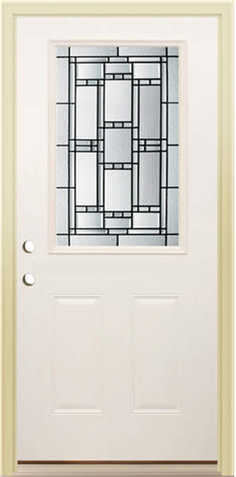 Mastercraft Ve 106 Primed Steel Half Lite Prehung Ext Mastercraft Exterior Doors